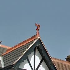 Hanson Roof Tile Texas by Roof Gargoyles U0026 Gargoyle Ridge Tiles Gargoyle Sc 1 St Roof