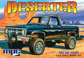 100 1984 Gmc Truck Amazoncom GMC PickupDeserter Molded In White Plastic