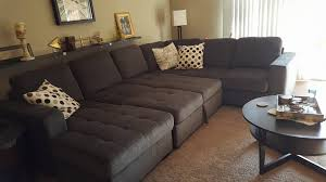 claire 3 piece sectional she looks great in our living room