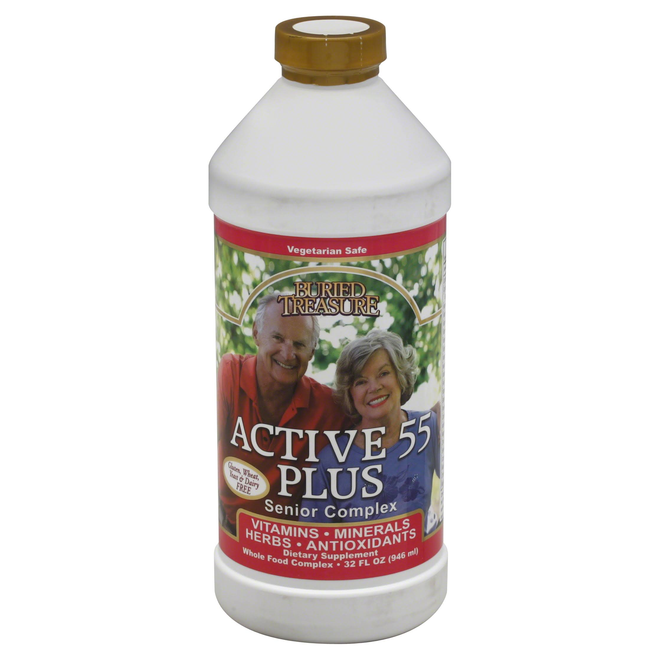 Buried Treasure Active 55 Herbal Supplement - 32oz