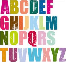 Bright Colorful Printable Alphabets