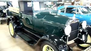 100 1928 Ford Truck Model A Roadster Pickup Nicely Restored Original YouTube