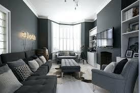 dunkelgraues wohnzimmer dekoration ideen wohnzimmer