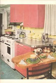 61 Mamie Pink Kitchens Day 3 With These Midcentury Marvels