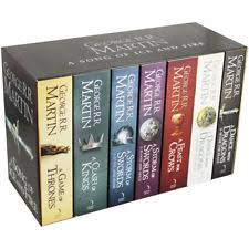 A Song Of Ice And Fire Game Thrones 7 Book Box Set Westeros