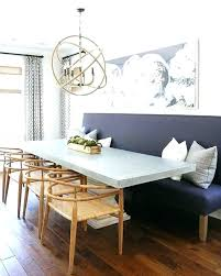Built In Bench Seat Dining Table Room With