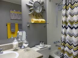 Yellow Gray And Teal Bathroom by Bathrooms Enchanting Yellow And Gray Bathroom For Lime Green