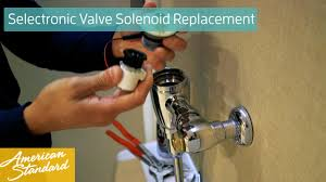 Delta Touch Faucet Replacement Solenoid by How To Replace A Selectronic Valve Solenoid Youtube