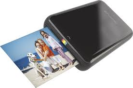 Polaroid ZIP Mobile Printer Black POLMP01B Best Buy