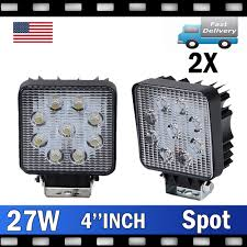 27W LED Work Light Truck OffRoad Tractor Spot Lights 12V 24V Square ... Trucklite Spot Lights Harley Davidson Forums Great Whites Led For Trucks 4wds Cars Mark 2 Ii Escort Rally Car Covered In Spotlights Stock Photo Buy Rigidhorse Pcs 5 Inch 48w 3 Row Spot Lights Pods Led Bulbs Trucks Impressionnant 24v Blue Halogen Car Ford Ranger Ingrated High Performance Spotlights Youtube North American Intertional Auto Show Awardwning Vehicles Custom Offsets Tv How Tos Installs And More Best Amazoncom Lightselectrical Parts Accsories Fasttrackautopartscom This Badass Truck Came Our Fleet Department Rear Facing Led