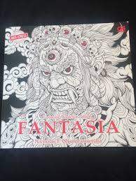 Fantasia Colouring Book By Nicholas F Chandrawienata