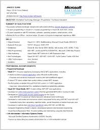 Objective On Resume Examples 29002 It Career Information Technology Gse
