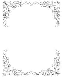 Wedding Invitation Borders Free Clipart