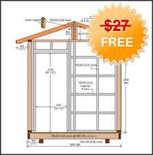 free 8x8 gable shed plans free kelaks