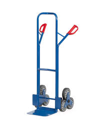 Steel Stair Climbing Sack Truck, Plastic Coated, 2 Lockable 3 Point ... Pneumatic Multibarrow Sack Truck Walmark 3 Way 250kg Safety Lifting Charles Bentley 300kg Heavy Duty Buydirect4u Ergoline Jeep With Tyre Gardenlines Delta Large Folding Alinium Ossett Storage Systems Neat Light Weight Easy Fold Up Barrow Cart Gl987 Buy Online At Nisbets Stair Climbing Sack Truck 3d Model Cgtrader 150kg Capacity Fixed Cstruction Solid Rubber Tyres 25060 Mm