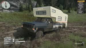 100 1987 Chevy Truck K10 Scrap Spintires MudRunner Mod