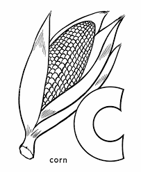 Amazing Corn Coloring Pages 15 For Your Print With
