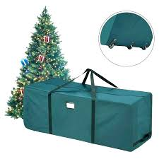 Christmas Tree Storage Container Artificial Box S Containers Plastic