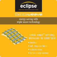 Eclipse Curtains Thermaback Vs Thermaweave by Eclipse Bobbi Grommet Blackout Energy Efficient Curtain Panel