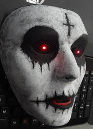 Purge Anarchy Mask For Halloween by The Purge Anarchy Mask With Red Led Lighted Eyes On Off Switch