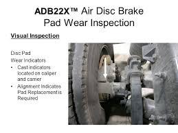 bendix adb 22x air disc brakes service series ppt video