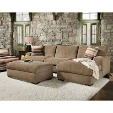 living room sectional sofa with chaise and ottoman