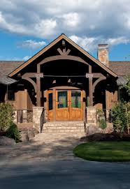 Ranch Style Homes Exterior Rustic With House Design