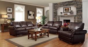 Black Leather Couch Living Room Ideas by Living Room Ideas With Brown Leather Sofa Unique Living Room With