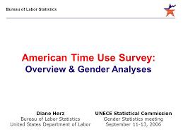 bureau of labor staistics bureau of labor statistics unece statistical commission gender