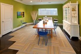 Affordable Ideas Dining Room Design Carpet Tile Flooring Top 6 Cheap Options