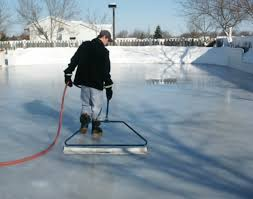 Amazon.com : Backyard Ice Skate Rink Resurfacer Pond Skating ...