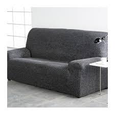 housse de canapé grise housse fauteuil et canapé extensible chiné ma housse déco