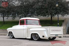 100 White Pick Up Truck Snow George And India Sepulvedas Sanitary 57 Chevy Up