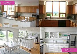 cuisine petit prix renovation cuisine en image avant apr s renovee apres