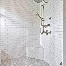 tile seat in shower 盪 unique beveled marble subway tiles