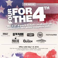 Four For The Fourth Live Nation - Philly2night Online Discount Code La Sagrada Familia March 2019 Cheap 25 Off Steelseries Coupon Codes Top November Deals Are The New Clickbait How Instagram Made Extreme Live Nation Concerts Home Facebook Free Jambo 150 Email Categories Aftershock Music Festival At Discovery Park On 13 Oct Fire And Ice Coupon Black Friday Mega Sale Damcore To Buy Tickets With Ticketmaster Vouchers To Apply A Or Access Your Order 20 Concert Available Now For Tmobile