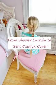 From Shower Curtain To Chair Cushion Cover Vintage Upcycled Velvet Ruffled Cushion And Pad Embellished Glam Cover Elegantly Twee Boudoir Wcrystal Buckle Linen Covers Cushions Ding Room Chair Pads With Ties Ding Room Chair Slipcovers The Slipcover Maker From Shower Curtain To French Country Kitchen Pads Video Photos Rectangle Pillow Covercushion How Select Seat For Chairs Overstockcom Cover Gathered Ruffles With Ballerina Sash Lace Love Ruffle White Ethic Cotton Blending Handmade Decorative Large Patio Porch Minggame001 1663 Delightful Teal Slipcovers