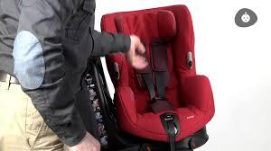 fixation siege auto bebe confort bébé confort installation du siège auto axiss