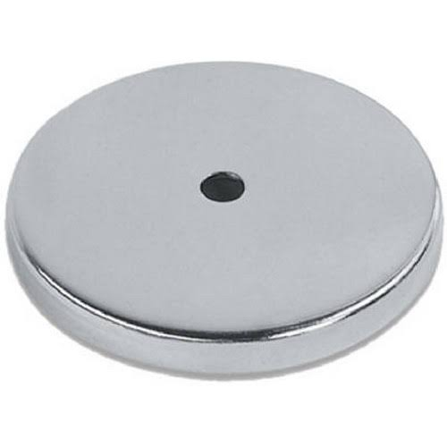 "Master Magnetics Heavy Duty Round Base Magnet - 95lbs, Ceramic Ring, 3.19"" Diameter"