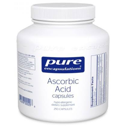 Pure Encapsulations Pure Ascorbic Acid