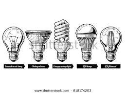 vector illustration light bulb stock vector 618174203