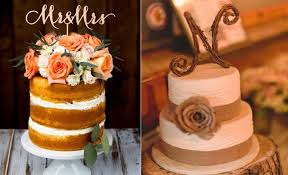 LessIsMore 20 Amazing Rustic Wedding Cakes That Are Perfect For A