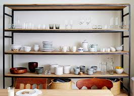 Dining Room Kitchen Ideas by 10 Gorgeous Takes On Open Shelving In Kitchens