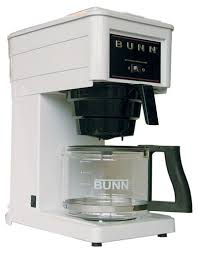 Bunn Coffee Brewer White 10 Cup GRXW