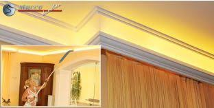 styroporleisten für indirekte beleuchtung lichtleisten