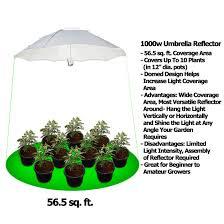 1000 Watt Hps Lamp Height by Yield Lab 1000w Hps Mh Umbrella Reflector Grow Light Kit