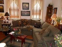 Primitive Living Room Curtains by Chic Primitive Curtains For Living Room New Home Design