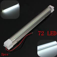 audew 340mm 12v 4 5w 72 led light bar with on