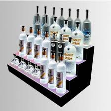 Fantastic Led Illuminated Display Stand For Champagne WineLiquor And Beers