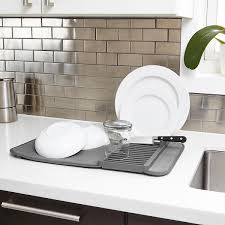 Kohler Sink Protector Rack by Dish Drying Racks Drainers U0026 Dish Soap Dispensers The Container